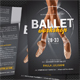 Ballet Workshop Postcard - GraphicRiver Item for Sale