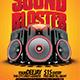 Sound Blaster Flyer - GraphicRiver Item for Sale