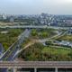 Bangkok Motorway to Suvarnabhumi Airport, Srinakarin Road, Pattanakarn Aerial Photography - PhotoDune Item for Sale