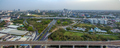 Bangkok Motorway to Suvarnabhumi Airport, Srinakarin Road, Pattanakarn Aerial Photography