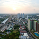 360° panorama Bangkok Motorway to Suvarnabhumi Airport - PhotoDune Item for Sale