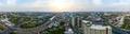 360° panorama Bangkok Motorway to Suvarnabhumi Airport