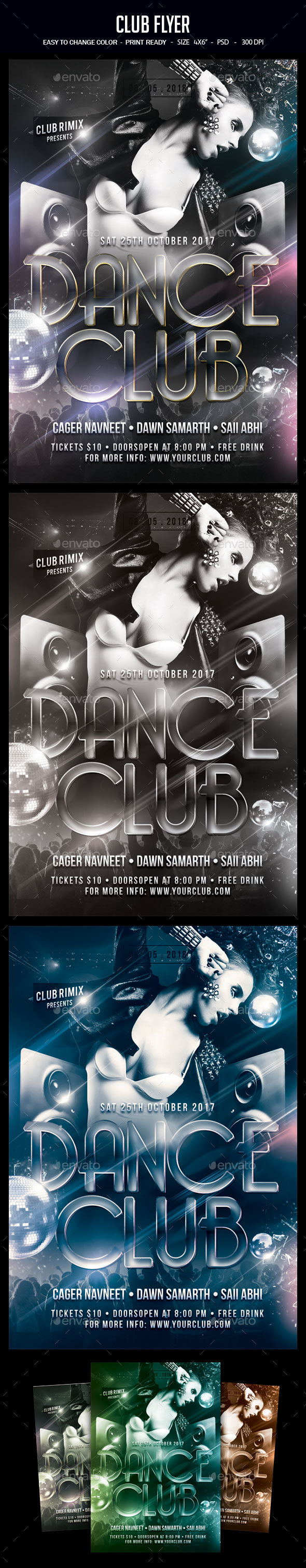 GraphicRiver Club Flyer 20510067
