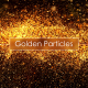 Golden Particles Backgrounds - VideoHive Item for Sale