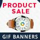 Product Sale Animated GIF Banners
