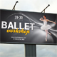 Ballet Workshop Outdoor Banner - GraphicRiver Item for Sale