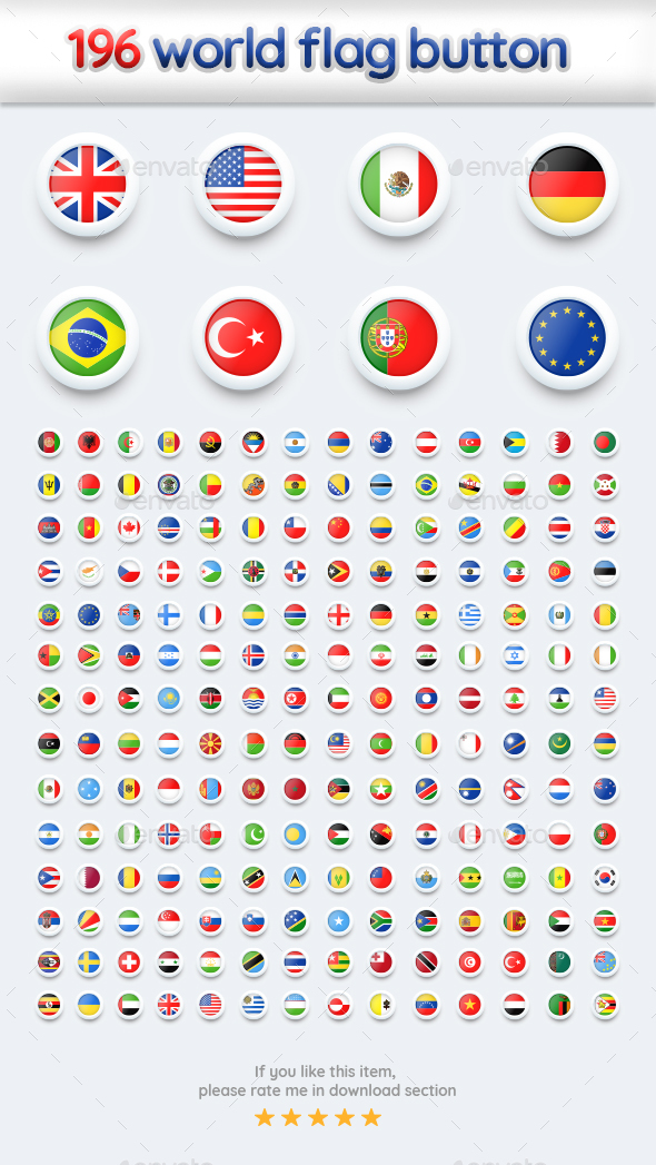 Flags Button - Miscellaneous Characters