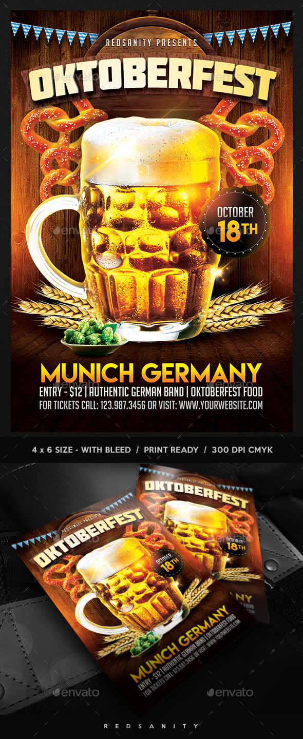 GraphicRiver Oktoberfest Flyer 20510277