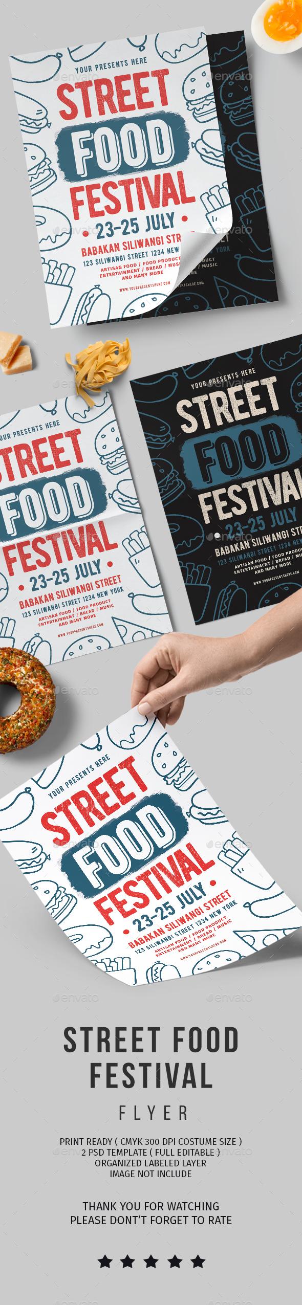 Food festival - Flyers Print Templates