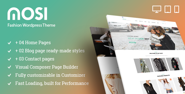 MOSI Fashion Responsive Multi-Purpose WordPress Theme - WooCommerce eCommerce
