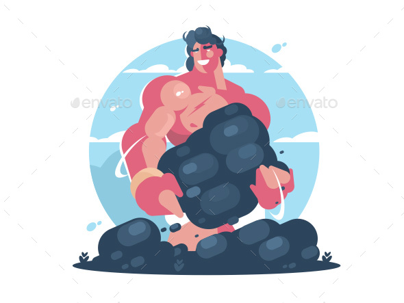 GraphicRiver Mythological Character of Hercules 20511022