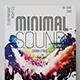 Minimal Sound Flyer - GraphicRiver Item for Sale
