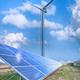 solar panels and wind turbine - PhotoDune Item for Sale