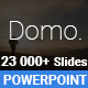 Domo Powerpoint Presentation Template