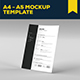 A4 - A5 Mock-up Template - GraphicRiver Item for Sale