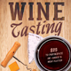 Wine Tasting Flyer Template - GraphicRiver Item for Sale