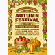 Vintage Autumn Festival Poster - GraphicRiver Item for Sale