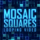 Blue Mosaic Squares  - VideoHive Item for Sale