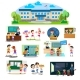 Back To School Set of Pictographs, Childrens Life - GraphicRiver Item for Sale