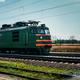 Diesel local train in Russia. - PhotoDune Item for Sale