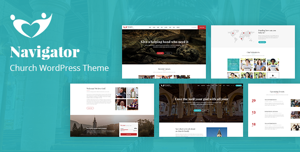Navigator - Nonprofit Church WordPress Theme - Churches Nonprofit