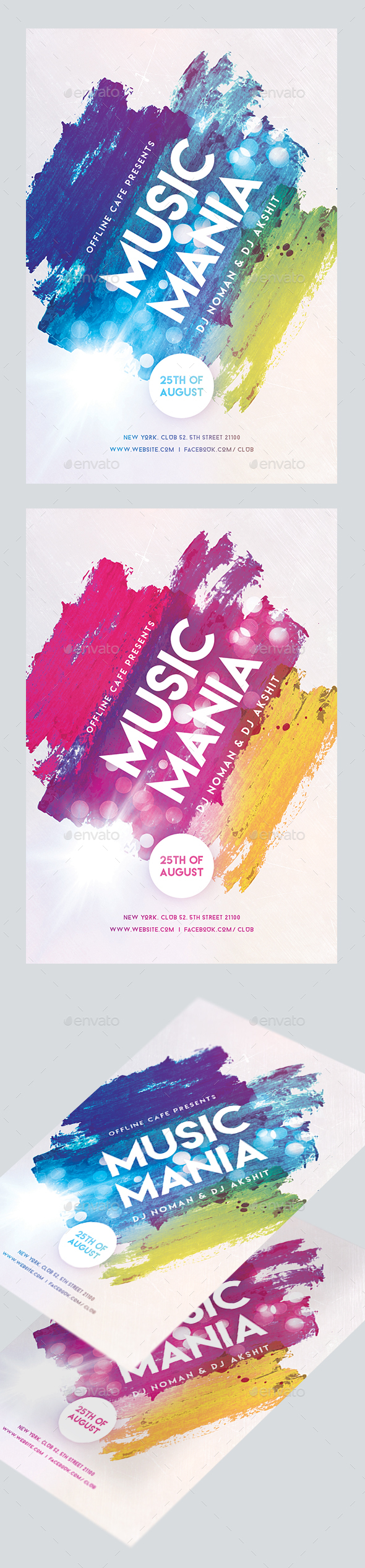 GraphicRiver Music Festival Flyer 20513040