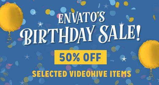 Birthday Sale 2017 - VideoHive