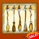 Sale of Flying Brooms Pop Art Style Vector