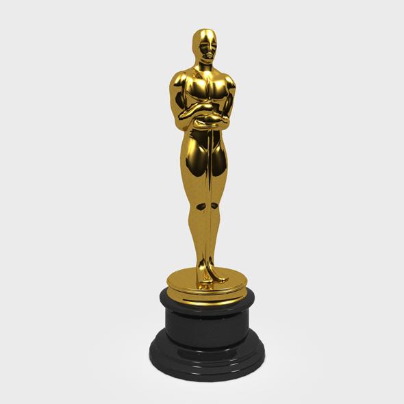 Oscar Statue - 3DOcean Item for Sale