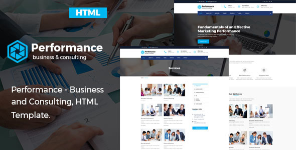 Performance - Consulting  Business HTML Template - Business Corporate