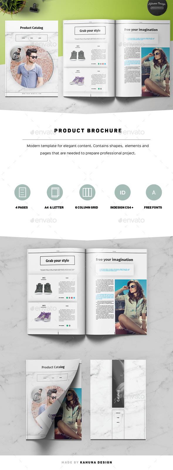 Product 4p Brochure - Catalogs Brochures