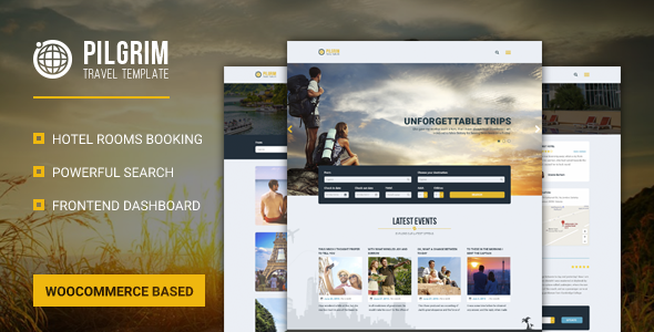 Pilgrim — Travel Booking WordPress Theme - Travel Retail