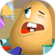 Mr. Potato - HTML5 Game (CAPX)