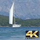 Yacht Sailing near Shores - VideoHive Item for Sale
