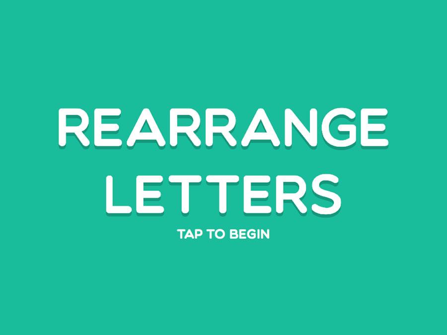 Rearrange Letters Html5 Game By Demonisblack Codecanyon