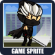 The Ninja 2D Game Character Sprite