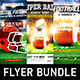 American Football Game Flyer Bundle vol.2 - GraphicRiver Item for Sale
