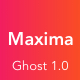 Maxima - Minimal Blog and Magazine Ghost Theme - ThemeForest Item for Sale