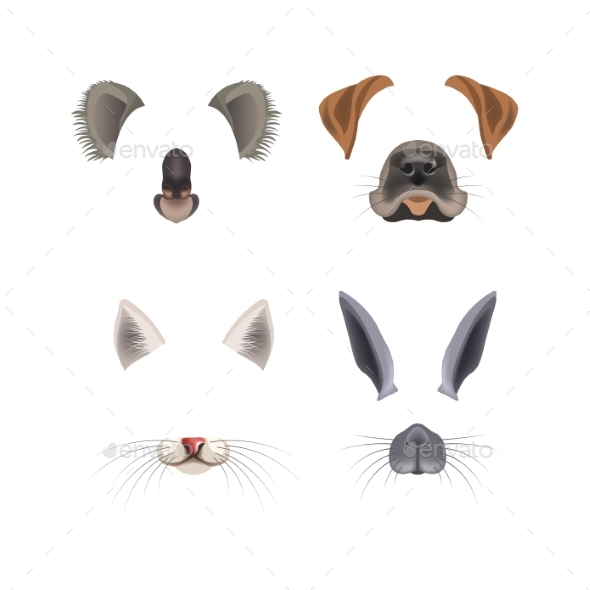 GraphicRiver Animal Face Filter Template Video Chat Photo 20514088