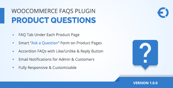 CodeCanyon WooCommerce Product FAQs Plugin Ask a Question 20451491