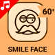 Smile Face Expression Animation - Line Icons and Elements - VideoHive Item for Sale