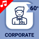 Corporate Office Workplace - Line Animated Icons and Elements