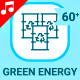 Eco Green Energy Animation - Line Icons and Elements - VideoHive Item for Sale