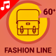 Fashion Wear Line Animation Icons