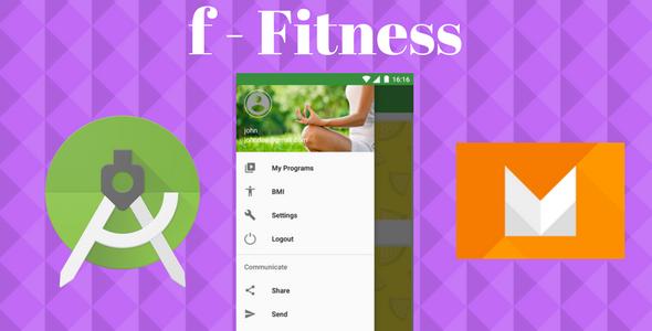 CodeCanyon Fitness App 20514675