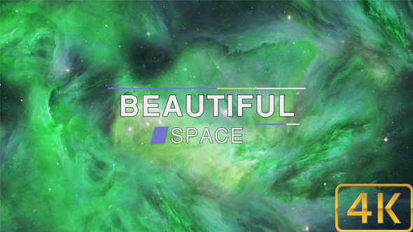 Beautiful Abstract Exciting Green Space Nebula Background By Mr Nightman