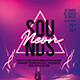 Neon Sounds Party Flyer - GraphicRiver Item for Sale