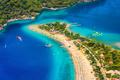 Amazing aerial view of Blue Lagoon in Oludeniz, Turkey - PhotoDune Item for Sale
