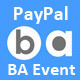 PayPal add-on for BA Event WP plugin
