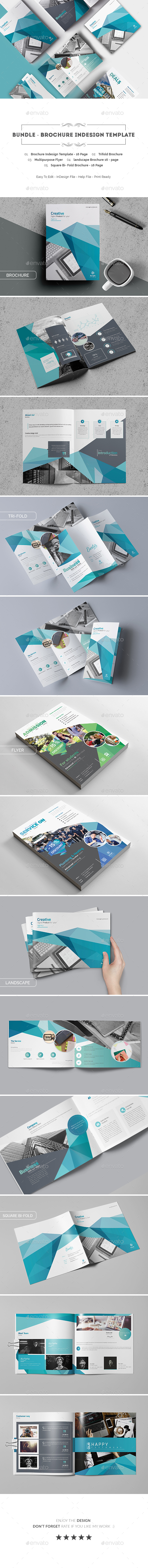 GraphicRiver Bundle Brochure Indesign Template 20515464